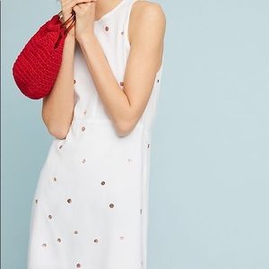 NWT Anthropologie polka dot dress